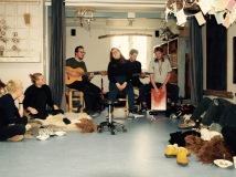 Første pop-up højskole - musik fra Marie og Rødderne.