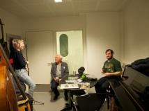 Under optagelsen til Den Kritiske Podcast, her med Erik Sigsgaard.